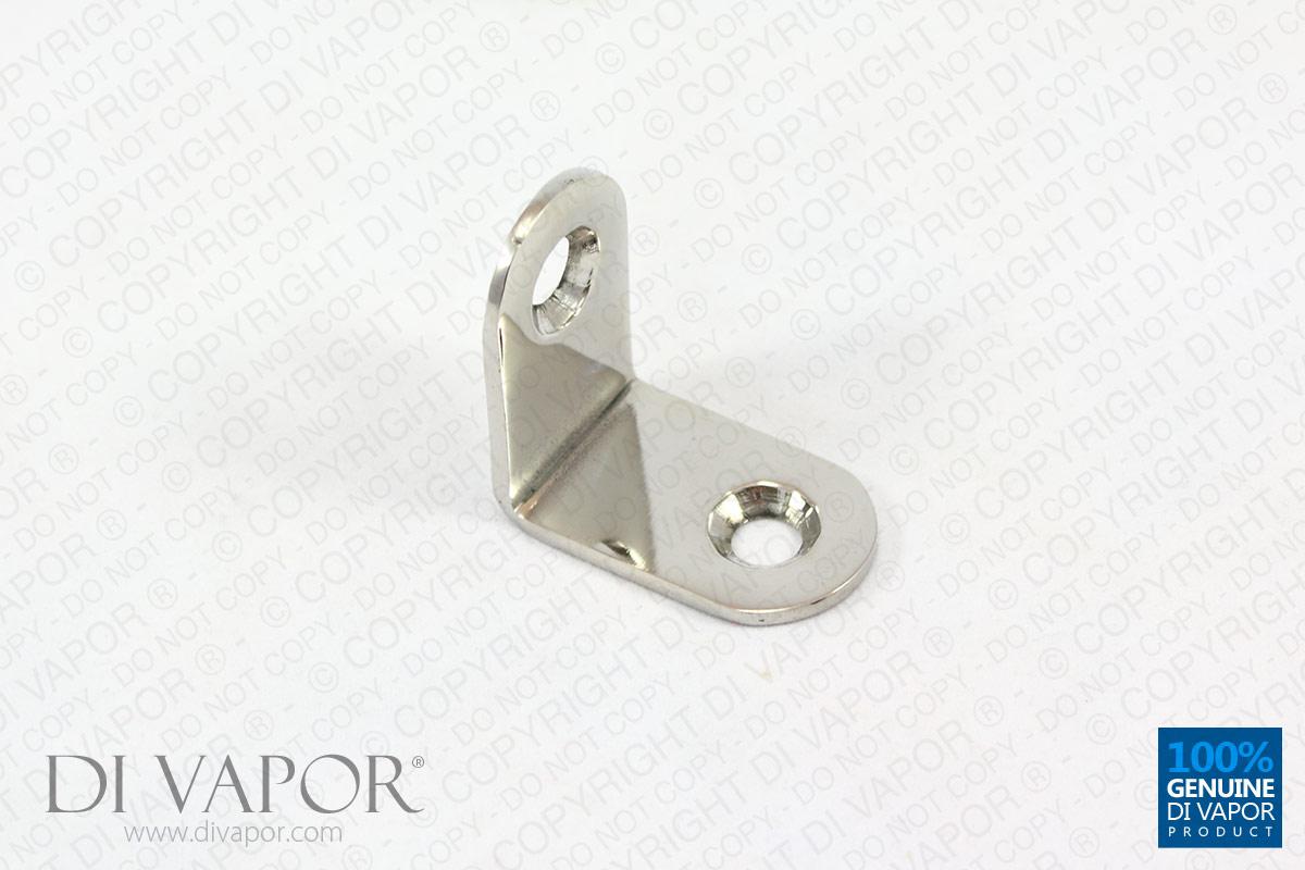 Right Angle L Shape Shower Glass Bracket