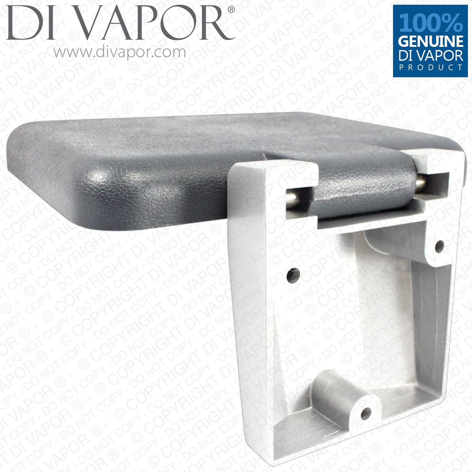 Square Folding Seat Wall Mounted For Shower 30cm Folding