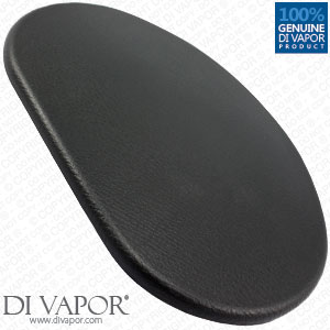 Oval Padded Cushion for Shower Enclosure and Bath Seats - 22cm Pad (Steam Rooms and Steam Showers)
