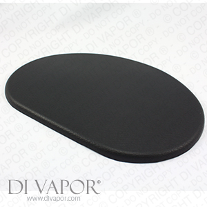 Oval Padded Cushion For Shower Enclosure And Bath Seats 22cm Pad Steam Rooms And