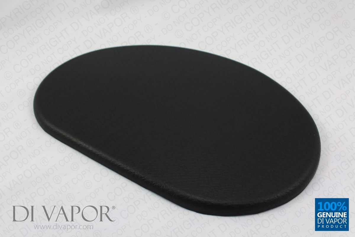 Oval Padded Cushion For Shower Enclosure And Bath Seats
