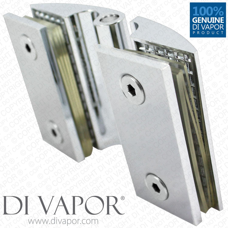 Clam Shell Door Hinge For Heavy Glass Shower Door Glass