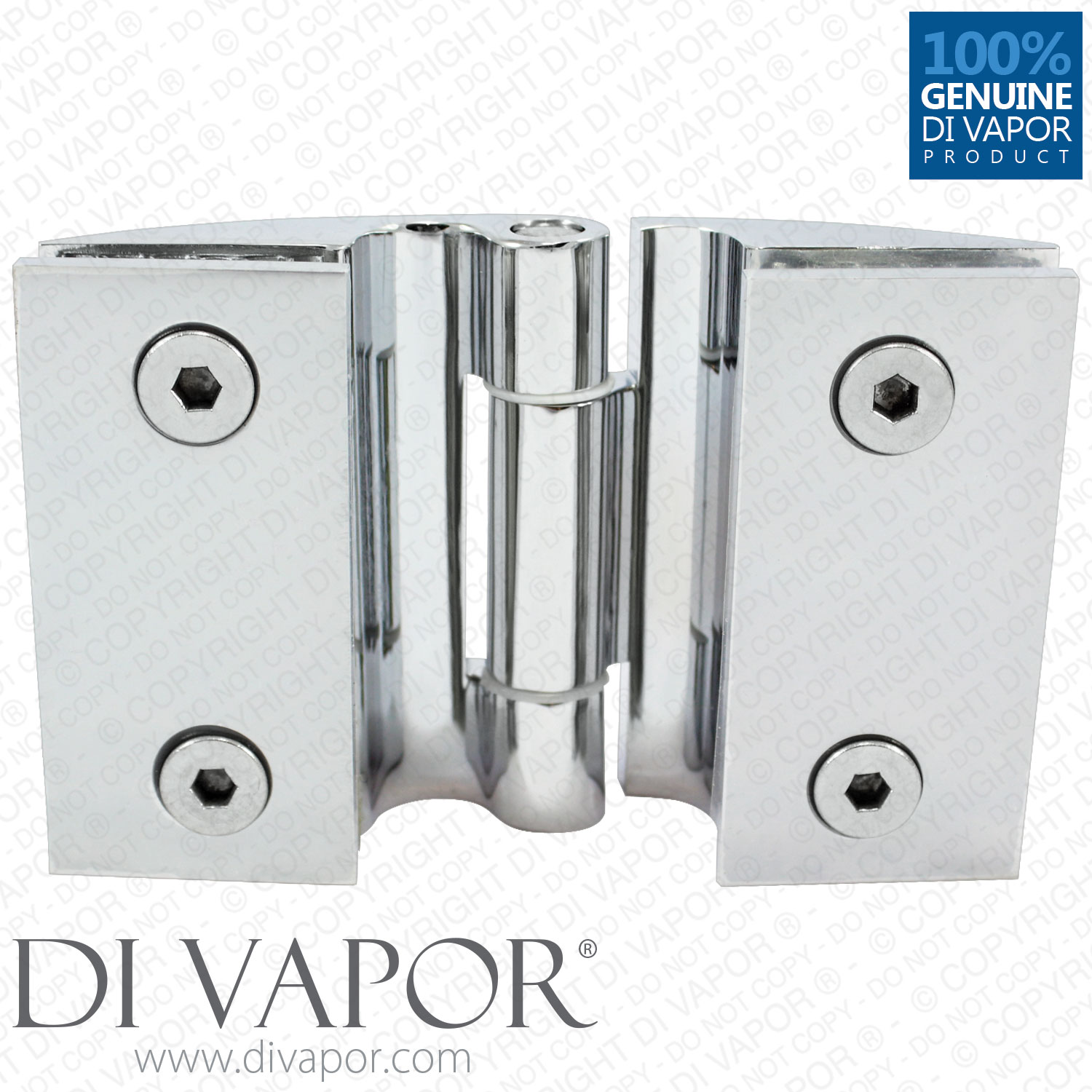 Glass Shower Door Hinges : Clam shell door hinge for heavy glass shower