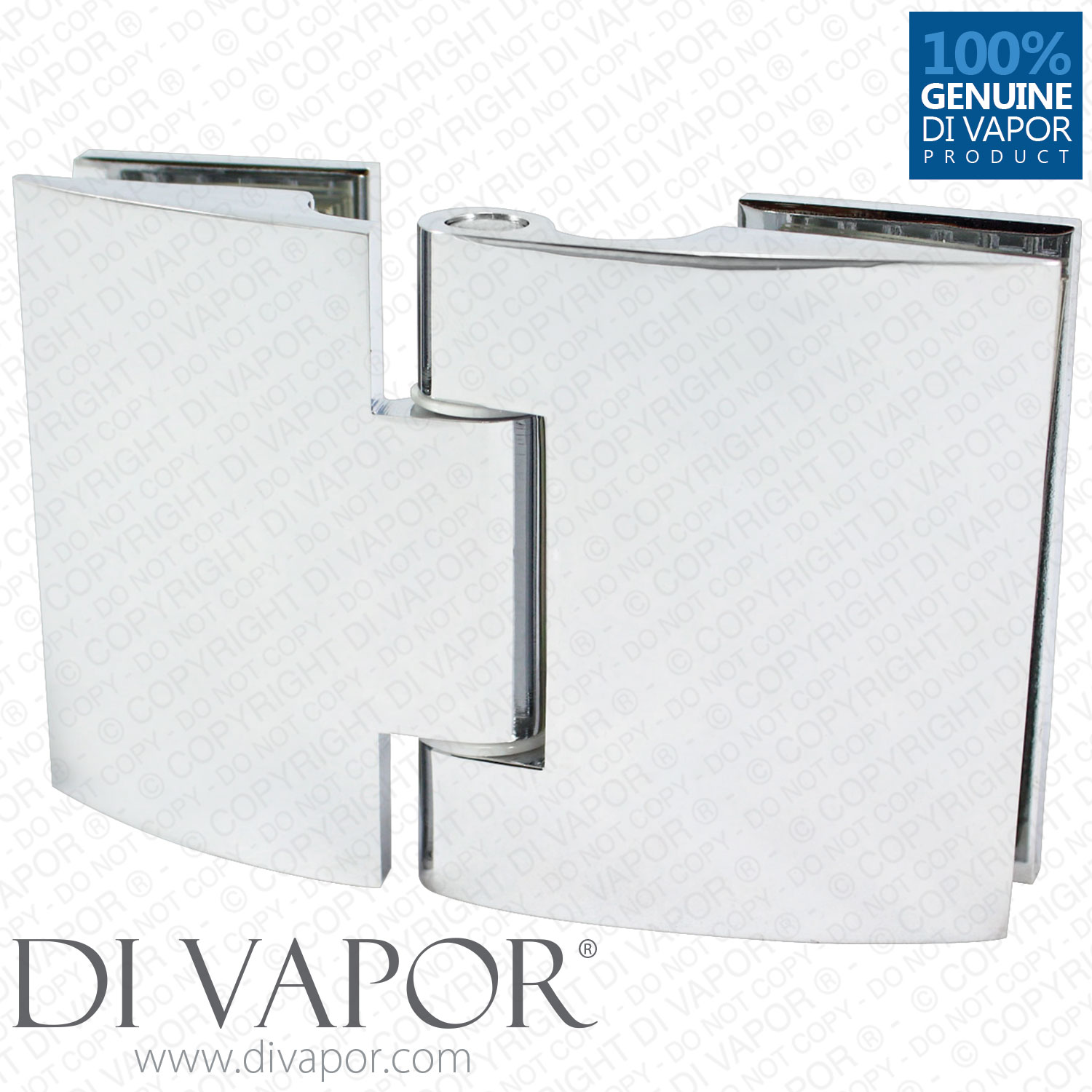 Shower glass door hinges - Glass To Glass Clam Shell Hinge For Heavy Glass Shower Door