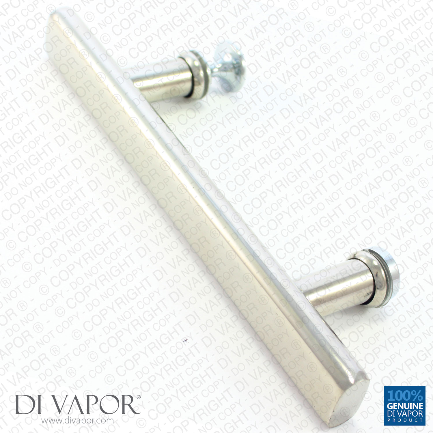 Di Vapor R 130mm Shower Door Handle 13cm Hole To Hole Stainless