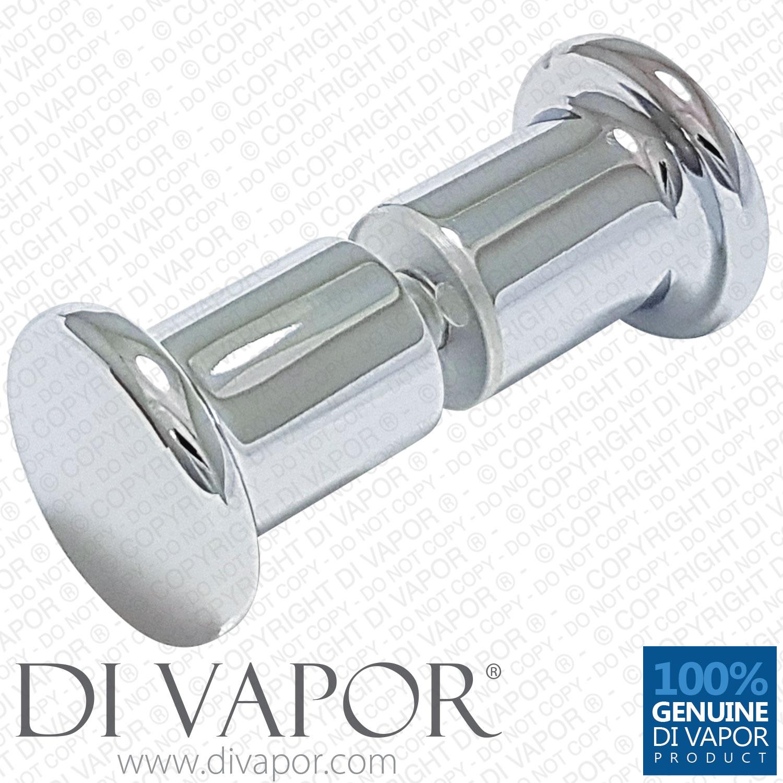 douche bain Poignée de porte//BOUTON effet chromé L045