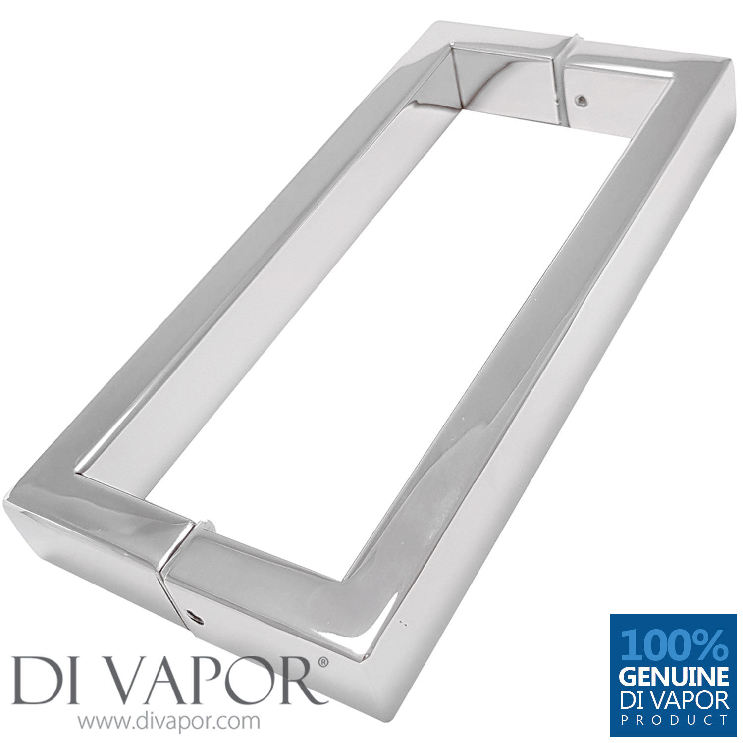 175mm Shower Door Handles 17 5cm Hole to Hole Stainless Steel