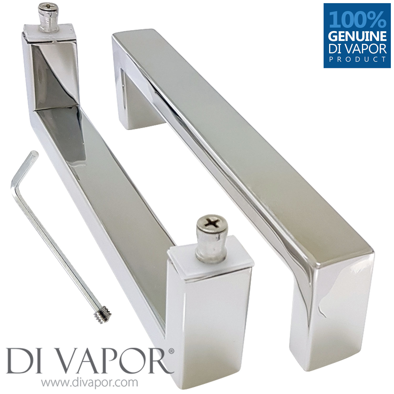 175mm Shower Door Handle 17 5cm Hole To Hole Stainless