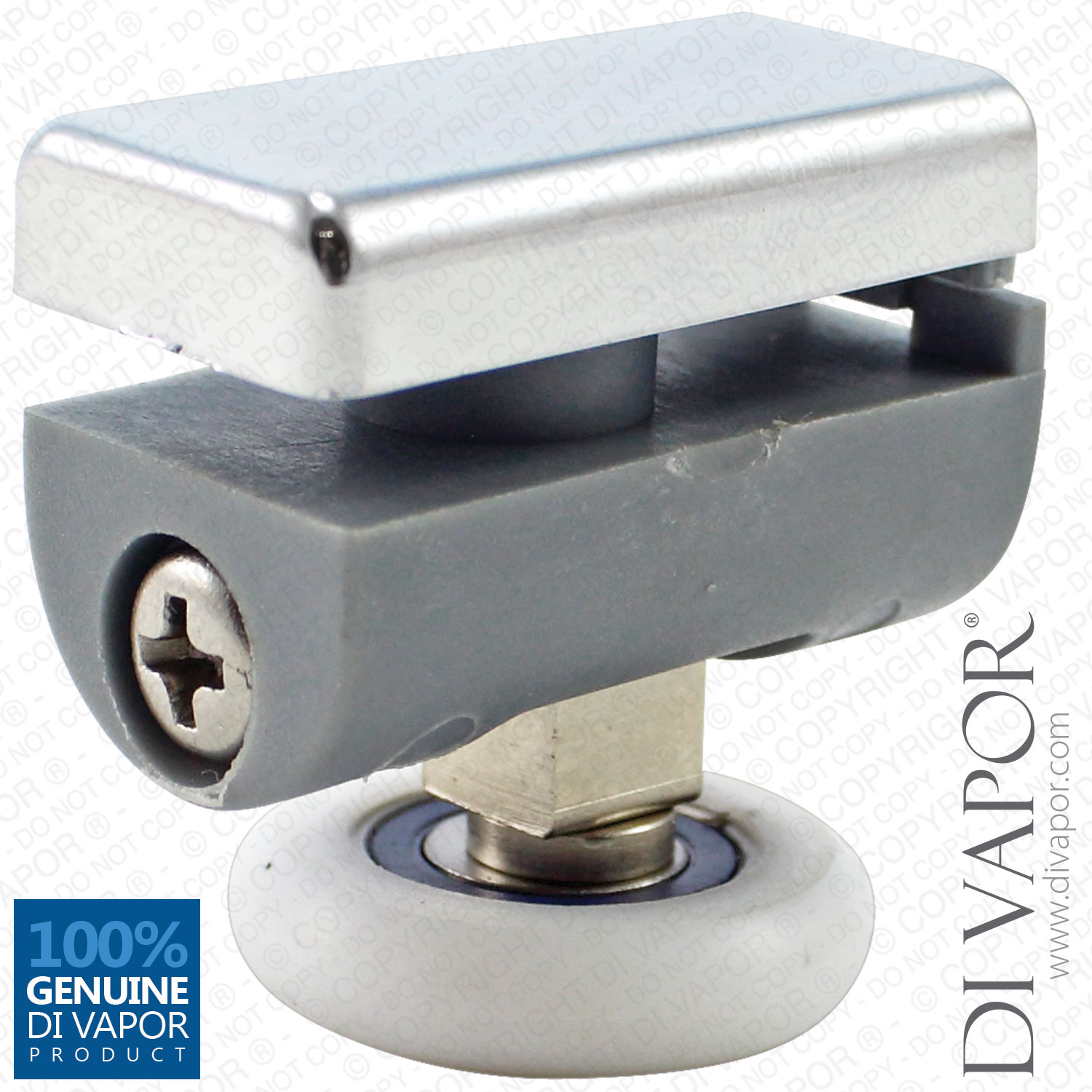 Swivel Fixed Shower Roller 5mm To 6mm Glass 24mm 25mm