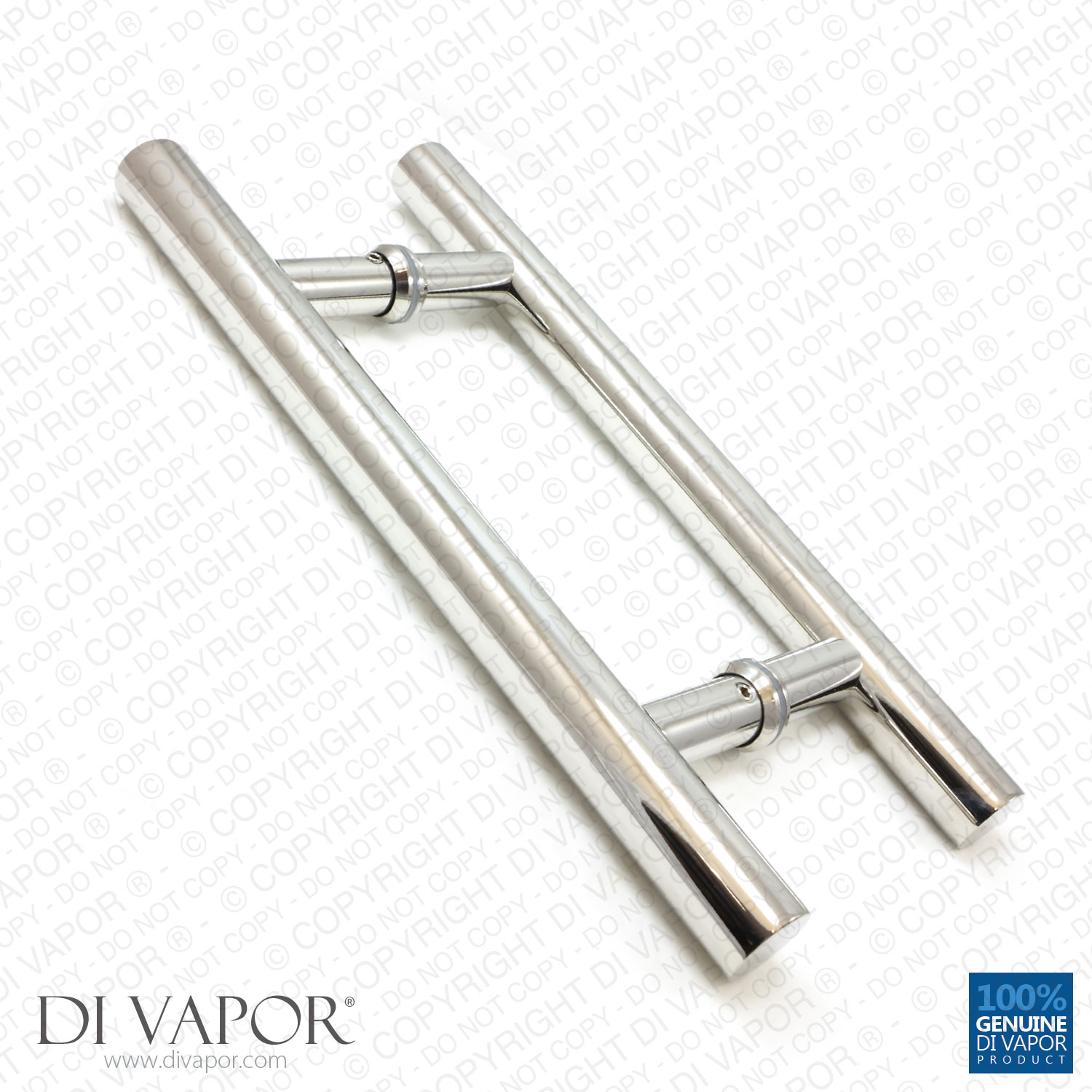 Di Vapor R 180mm Stainless Steel Shower Door Handles