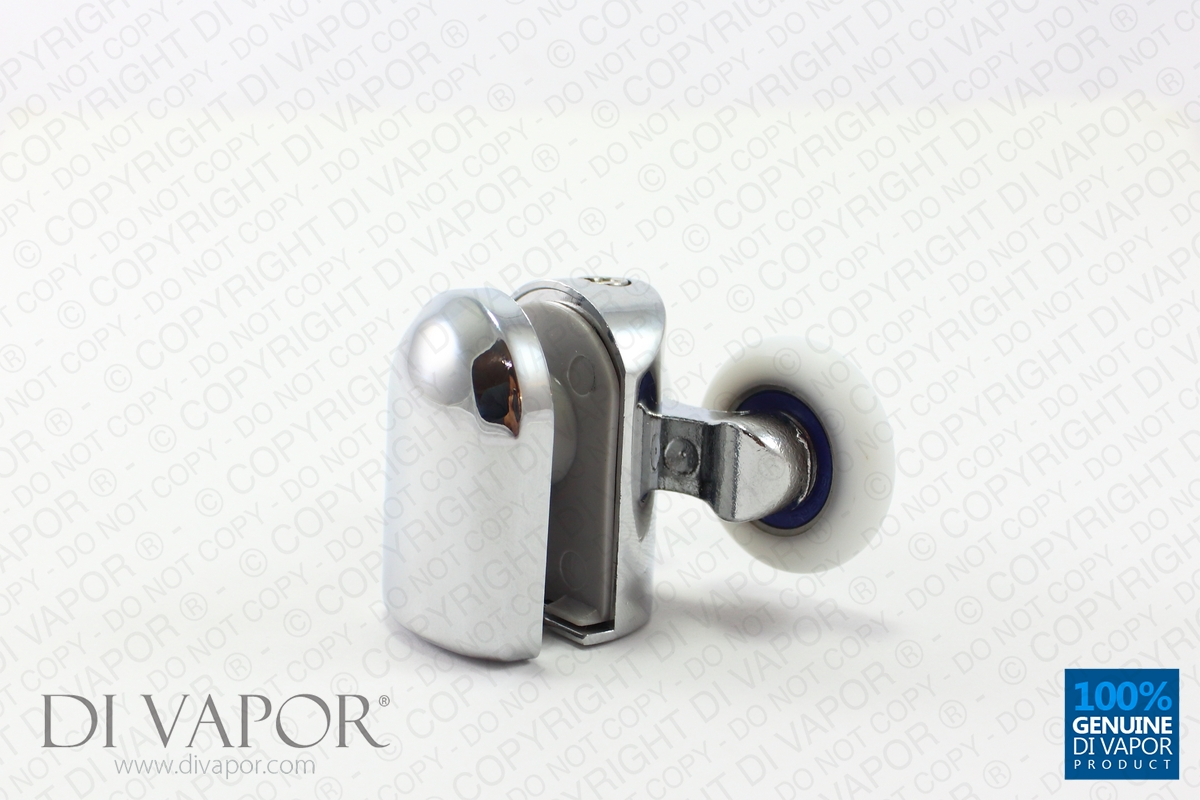 Double Top Glass Curved Shower Door Roller 6mm To 8mm