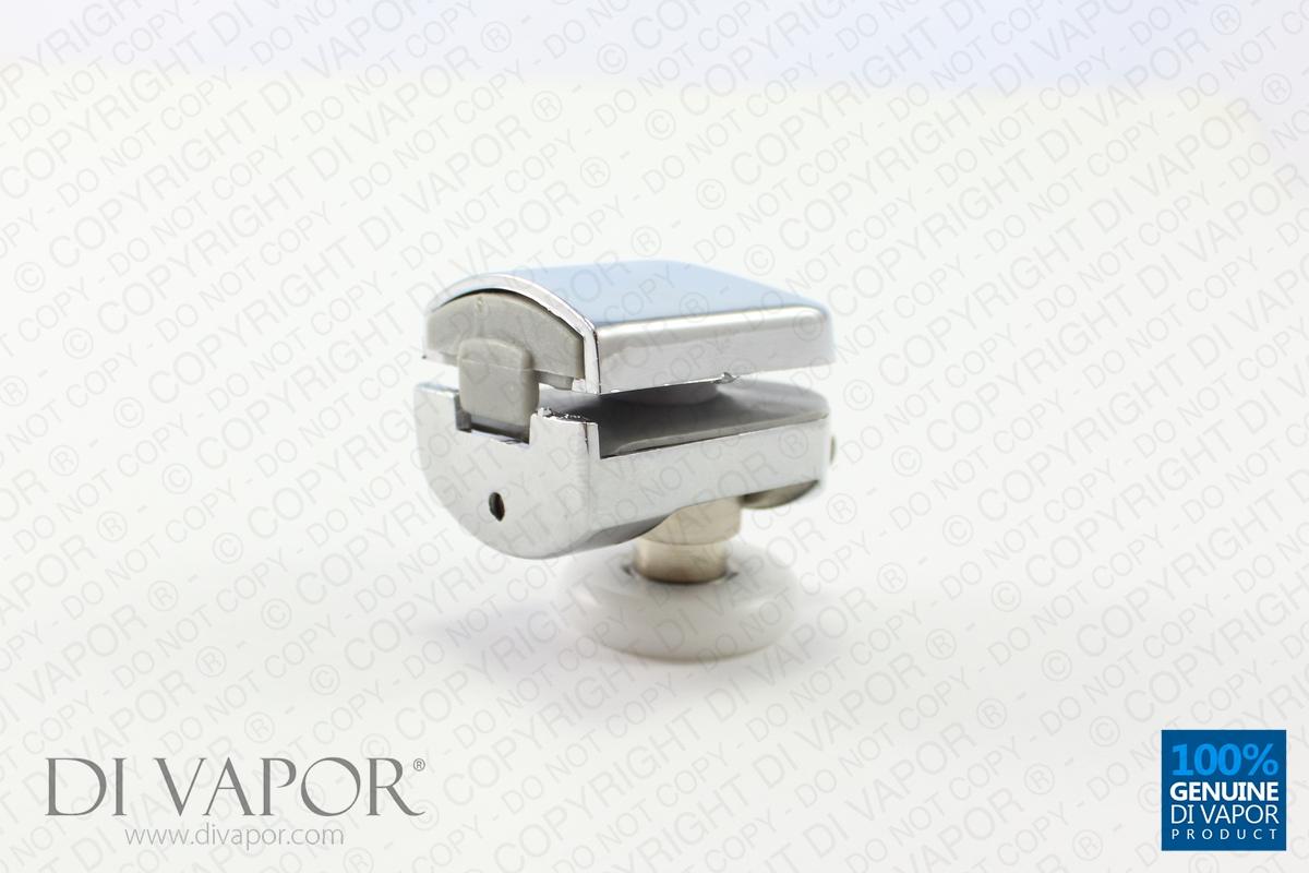 Di Vapor R Bottom Metal Single Shower Door Roller 6mm