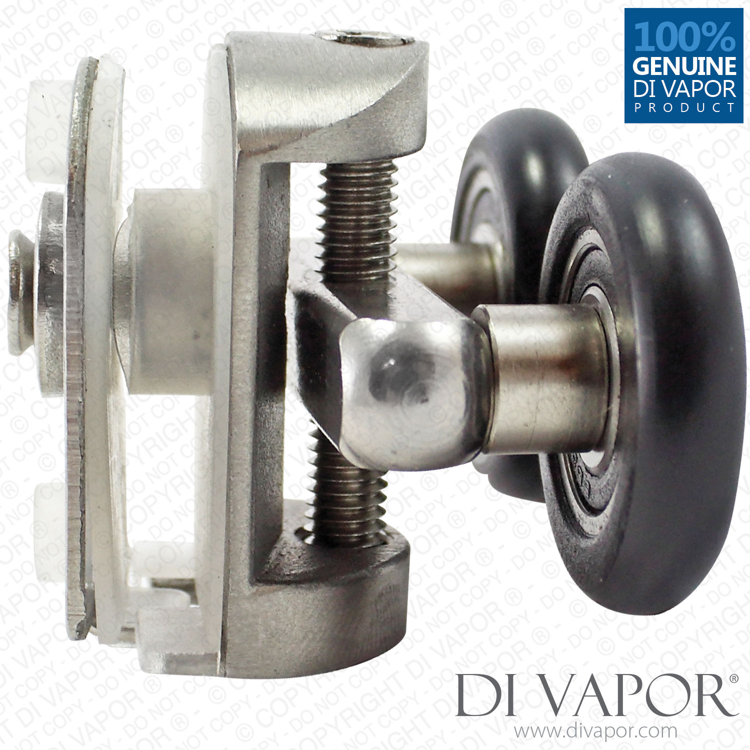 Di Vapor R 25mm 26mm Fixed Stainless Steel Black Double