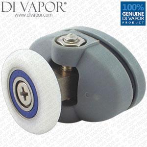 Di Vapor R Plastic Oval Top Swivel Shower Enclosure