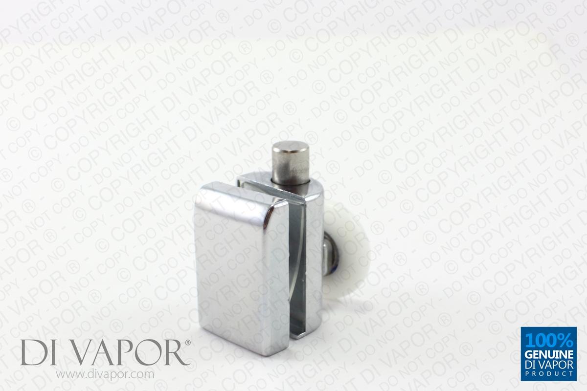 Spring Quadrant Shower Door Single Roller 4mm To 6mm