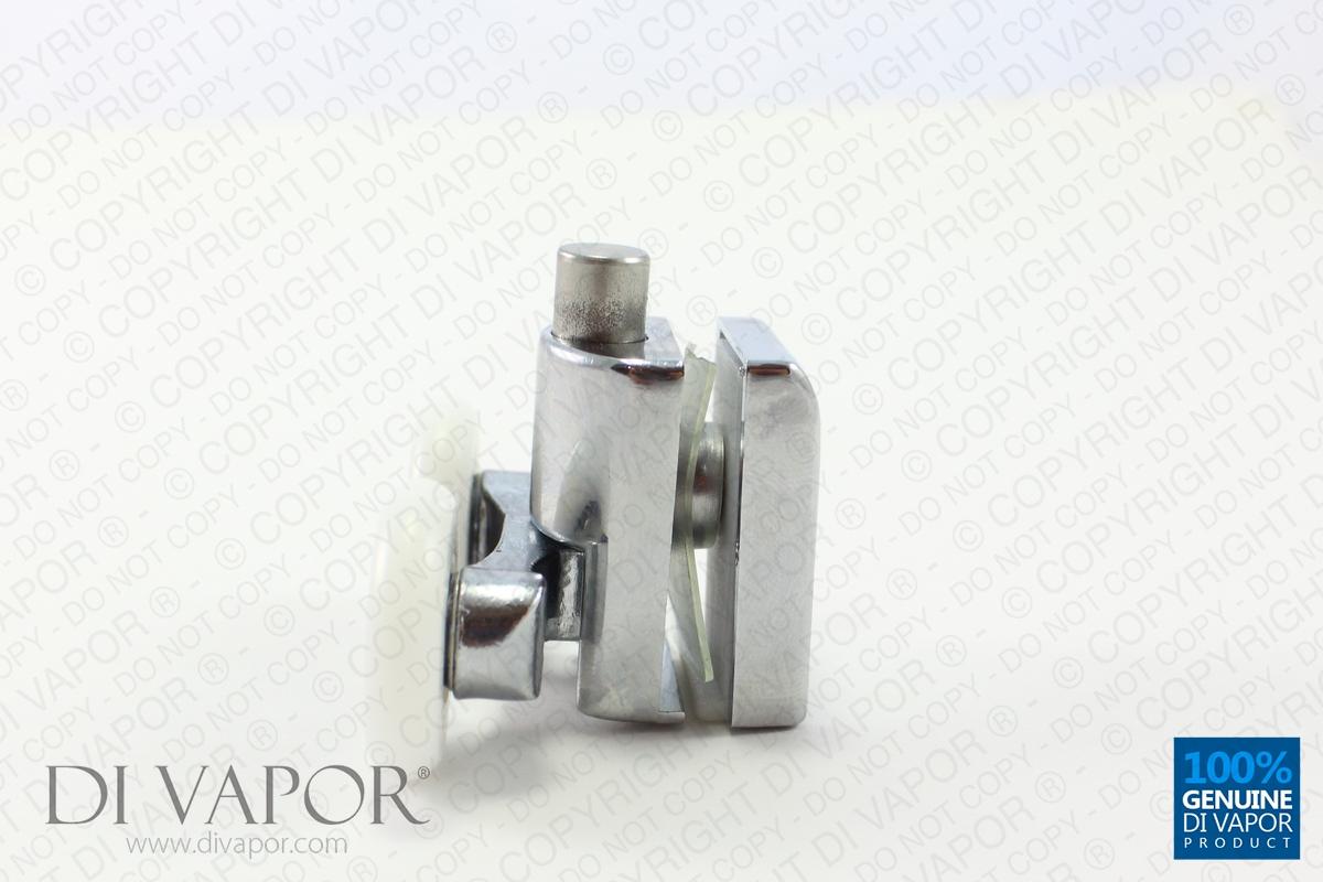 Spring Quadrant Shower Door Double Roller 6mm To 8mm