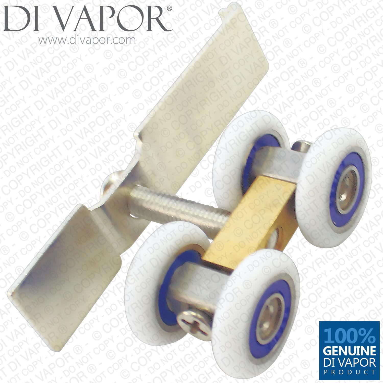 Sliding Door Roller Replacement Adelaide: 21mm Four Wheeled Roller For Glass Door Sliding Pulleys