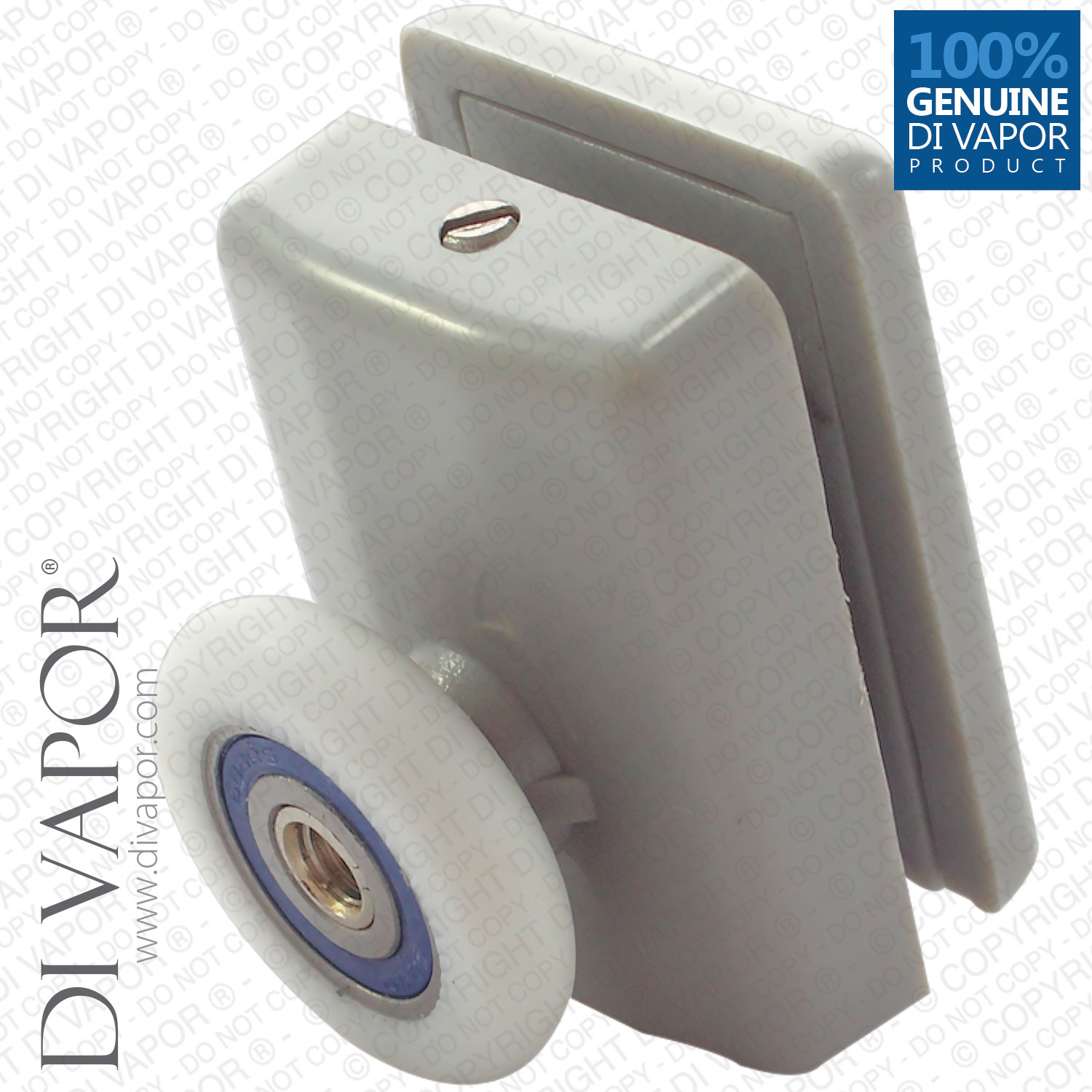 Single Plastic Top Fixed Shower Door Roller 22 24 26 28mm