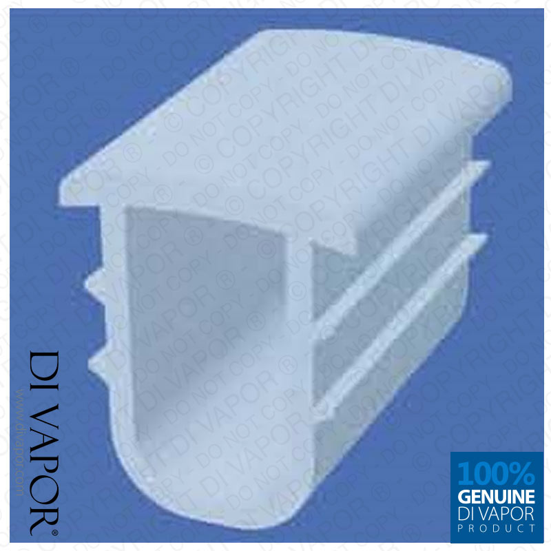 9.5mm Shower Channel Seal for Shower Door or Tray