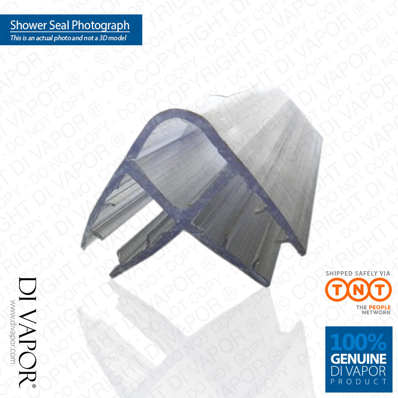 di vapor r zwei panel ecke dusche dichtung 4 6mm 8mm glas. Black Bedroom Furniture Sets. Home Design Ideas