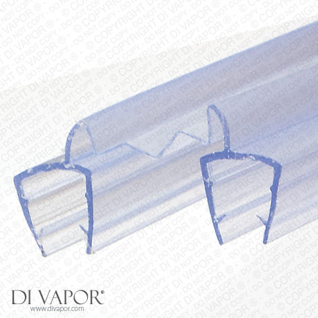 Di Vapor R Double Shower Glass Panel Seals 25mm Joiner