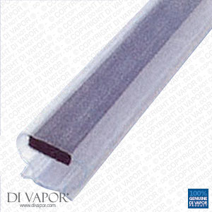 Magnetic Shower Door Replacement Seal | 6mm Channel | 200cm