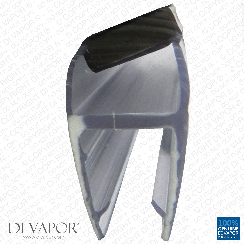 di vapor r shower magnetic door seal 4 6mm 8mm 10mm. Black Bedroom Furniture Sets. Home Design Ideas