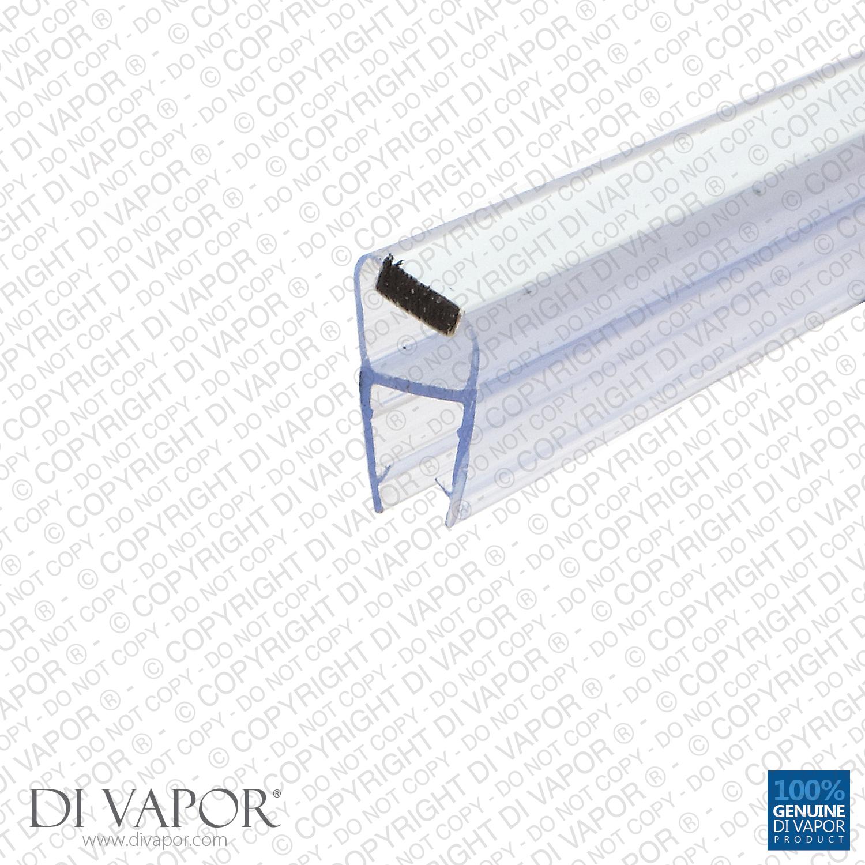 Shower Door Magnetic Seal Replacement 4 6mm8mm10mm Glass 85cm