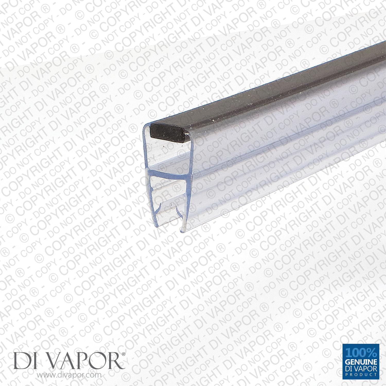 di vapor r flach magnetisch dusche dichtung 4 6mm 8mm. Black Bedroom Furniture Sets. Home Design Ideas