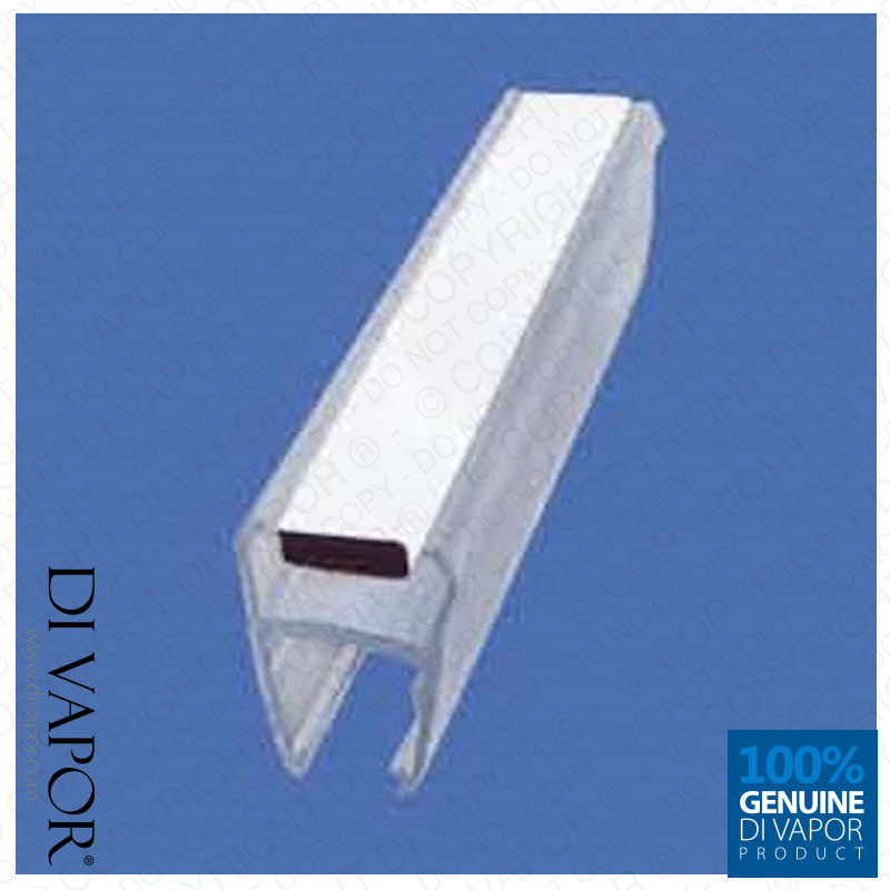 di vapor r magnetic shower door seal 4 6mm 8mm 10mm. Black Bedroom Furniture Sets. Home Design Ideas