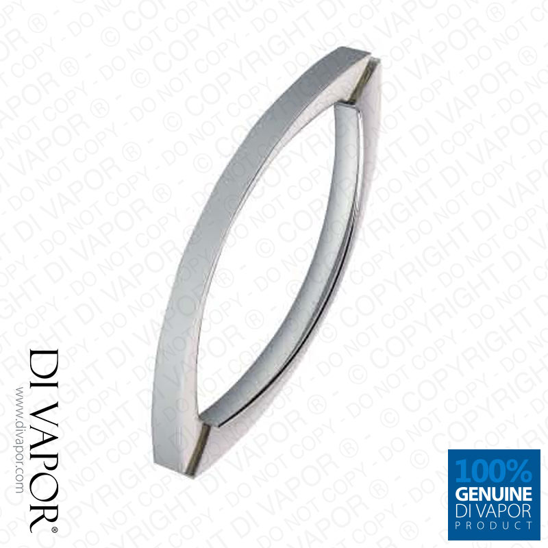 145mm Shower Door Handles | 14.5cm Hole to Hole