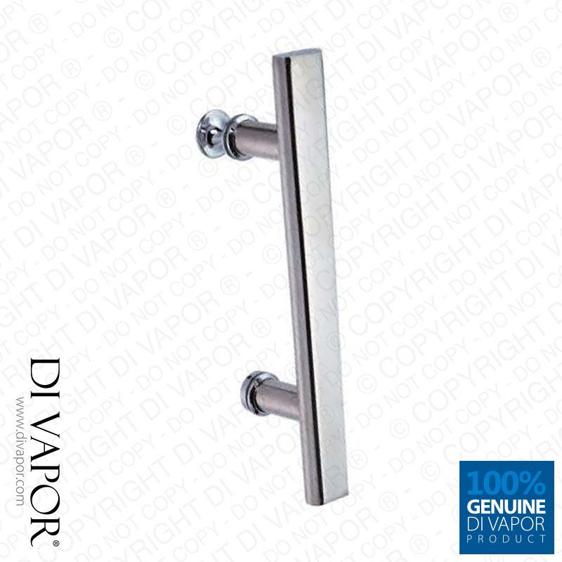 Di vapor r 145mm straight shower enclosure handle 14 Replacement shower handles