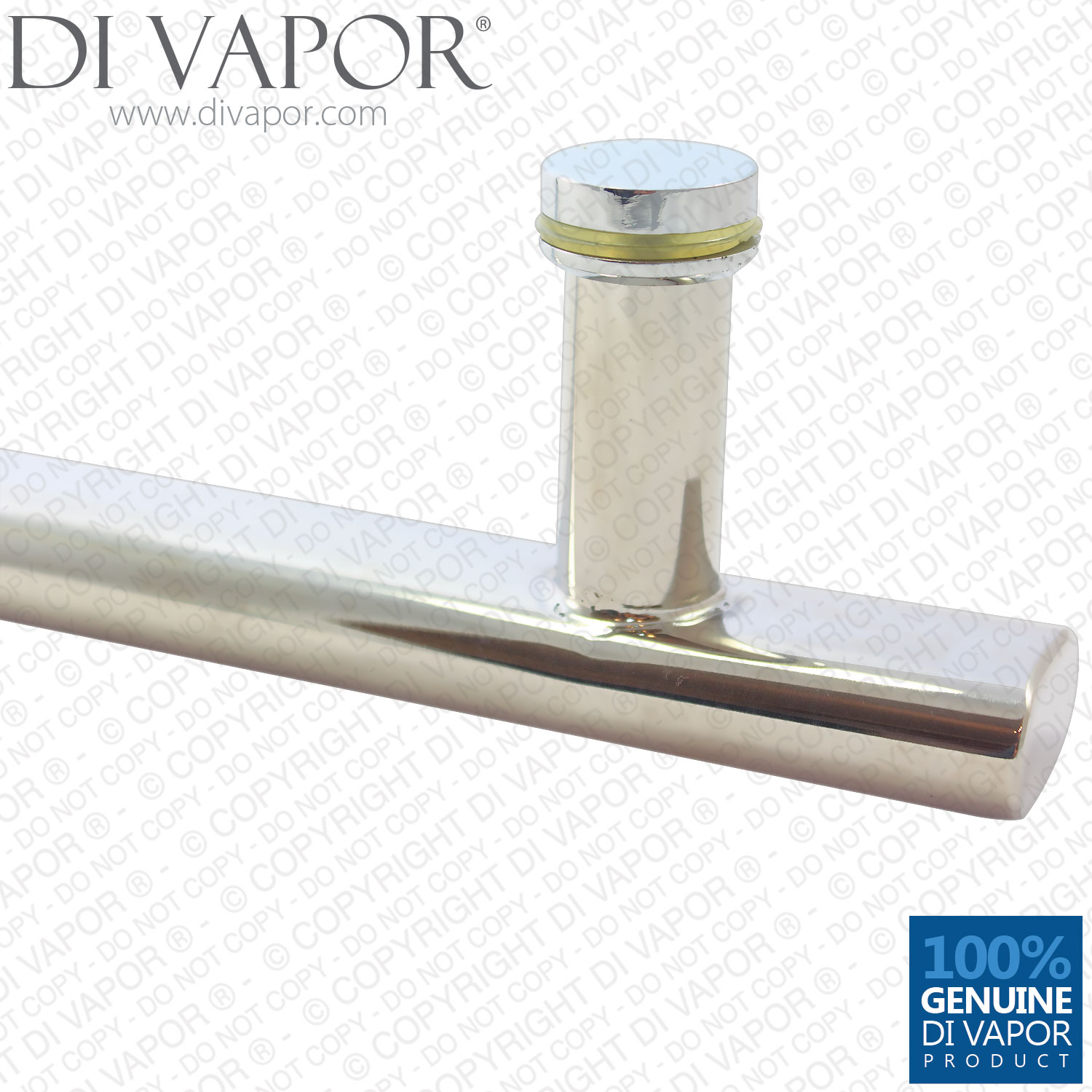 500mm Large Shower Door Handle Towel Rail 40cm Hole To