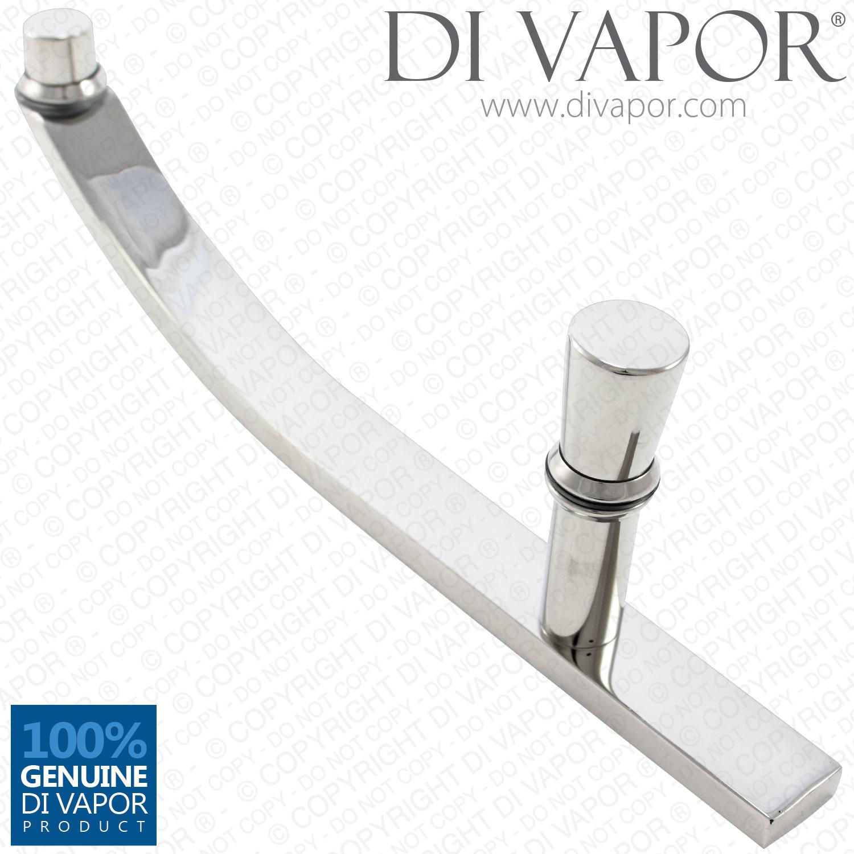 Di Vapor R 200mm Shower Screen Door Handle 20cm 8