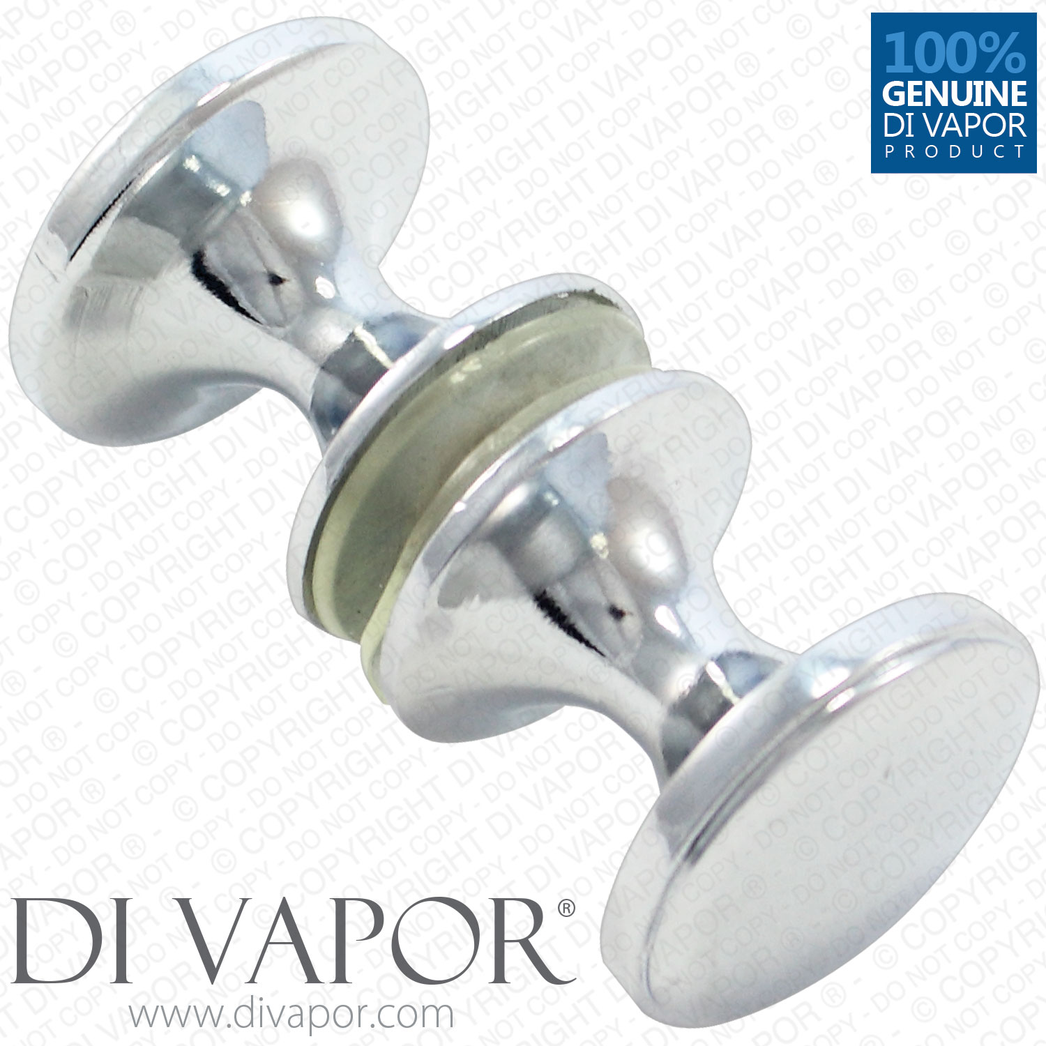 Di Vapor R Shower Door Knobs Chrome Finish Replacement