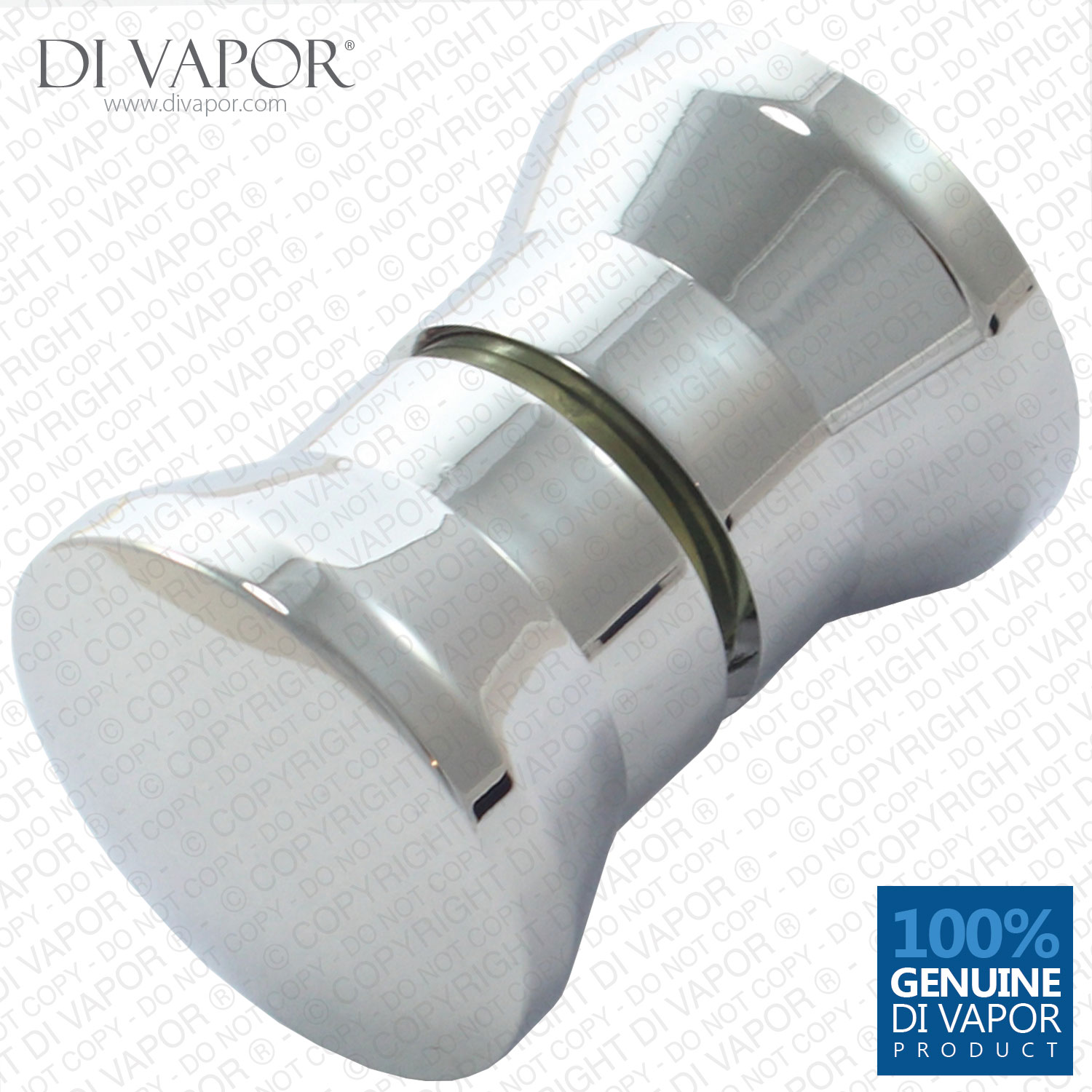 Shower Door Knob Chrome Handle 3cm X Replacement