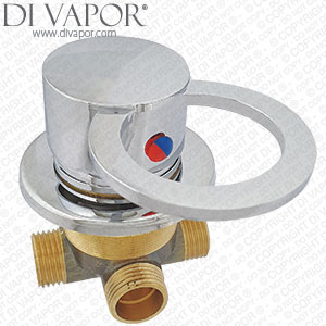 Manual Lever Wall or Deck Mounted Valve Mixer - 498873Y