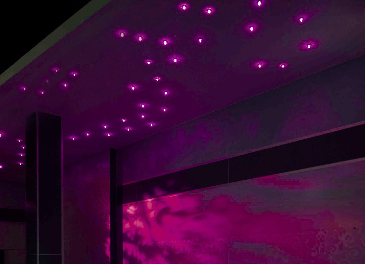 Steam Bath Shower Enclosures Tylo Ruben Sky 20 Led Sauna Lights