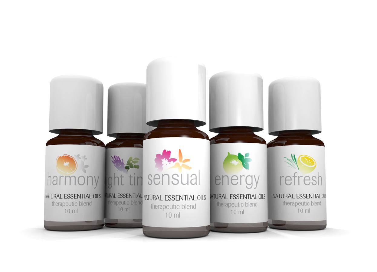 Tylo Sauna & Steam Aromatherapy Essential Oils Collection 6 Blends