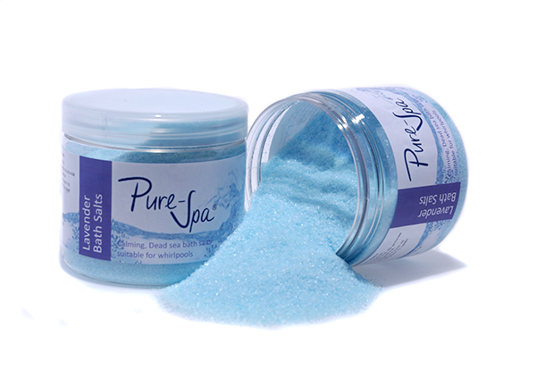 Pure-Spa Lavender Dead Sea Whirlpool Bath Salt 250g