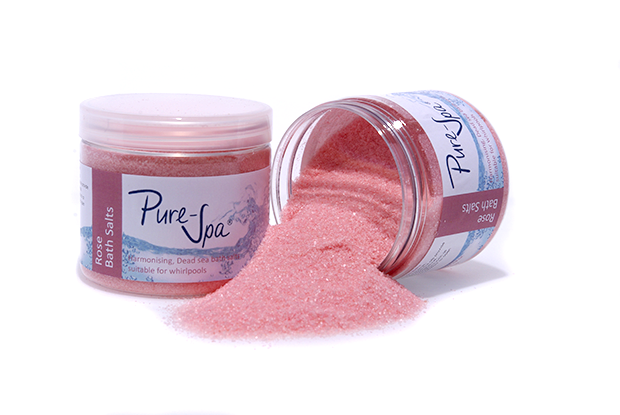 Pure-Spa Rose Dead Sea Whirlpool Bath Salt 250g