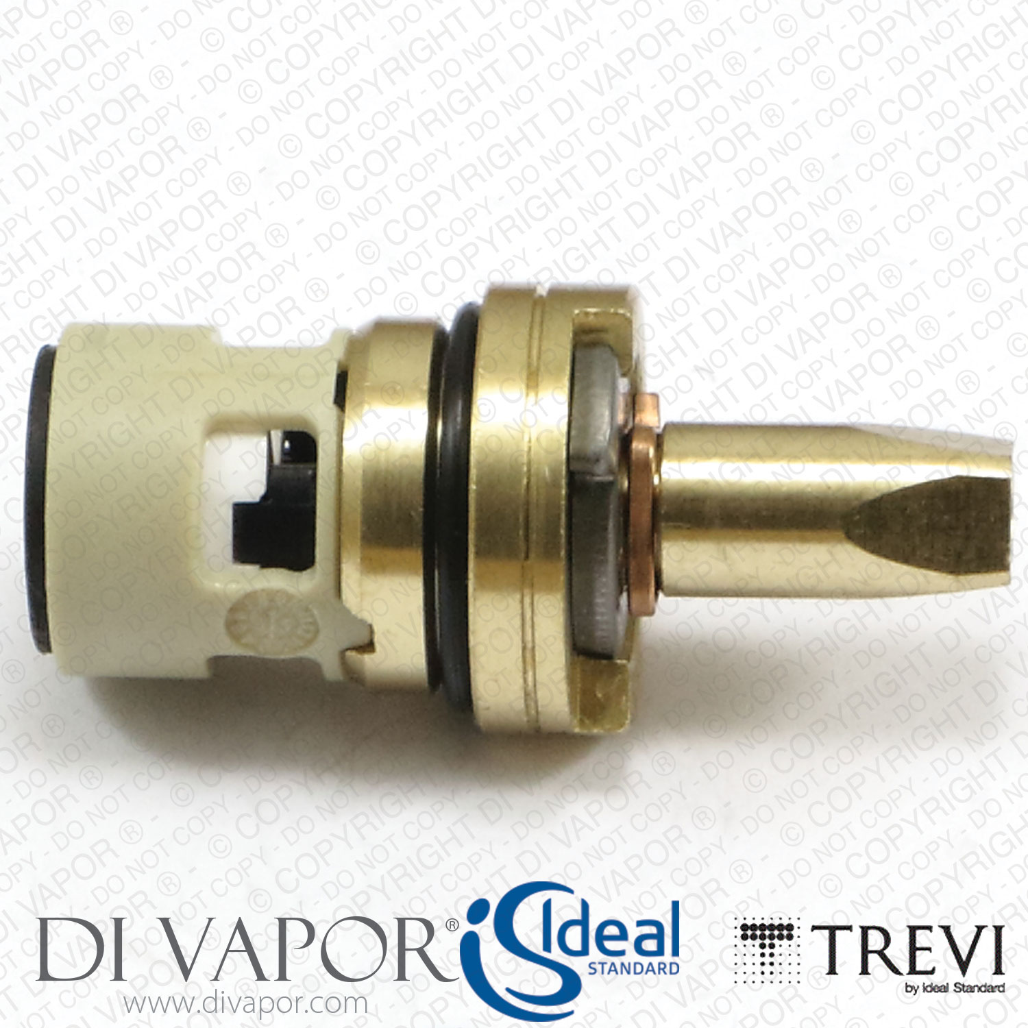 Trevi A6514895NU 1/2 Inch On/Off Flow Cartridge for Taps and Shower ...