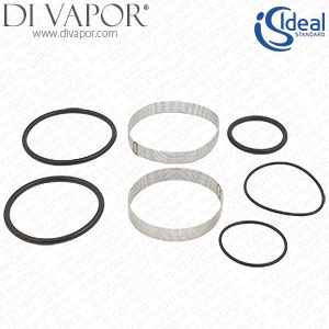 Ideal Standard A861166NU O Ring & Filter Repair-Kit for Sequental Thermostatic Cartridge