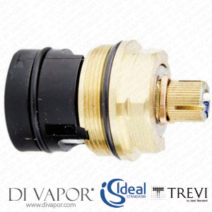 A960939NU Ideal Standard / Trevi Dualux On/Off Flow Cartridge G1/2 - Blue (Cold Side)