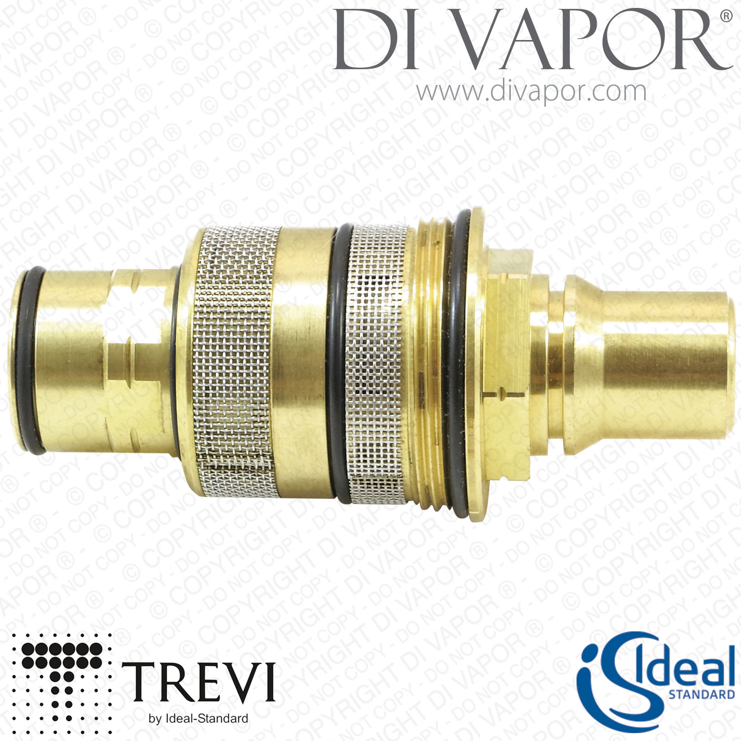 Ideal Standard Trevi A962229NU Ecotherm 1/2 Inch Thermostatic ...