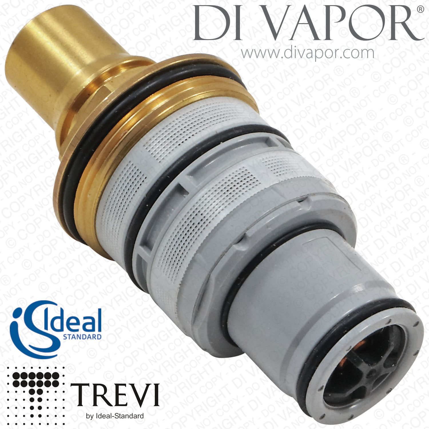 ideal standard trevi a962229nu ecotherm 1 2 inch thermostatic cartridge for. Black Bedroom Furniture Sets. Home Design Ideas