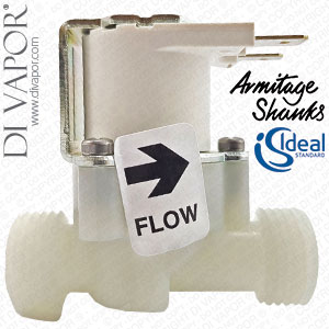 Armitage Shanks A962478NU Solenoid Valve for Sensorflow Taps Complete G1/2 (Ideal Standard / Trevi)