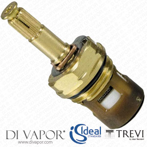 A963400NU Ideal Standard / Trevi G1/2 X 180 On/Off Ceramic Disc Flow Cartridge for Taps and Shower Valves