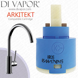 Abode Arkitekt 35mm Single Lever Kitchen Tap Cartridge