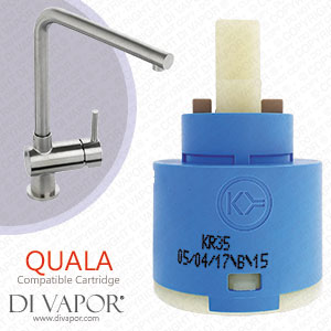 Abode Quala 35mm Single Lever Kitchen Tap Cartridge